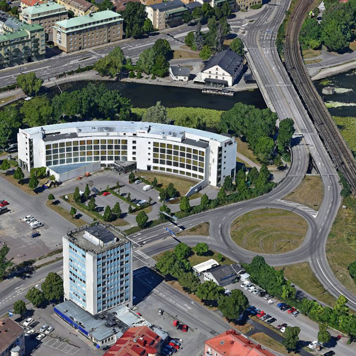 Linkoping, Zweden (3D)