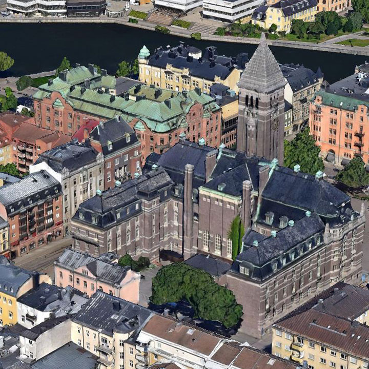 Norkoping, Sweden (3D)